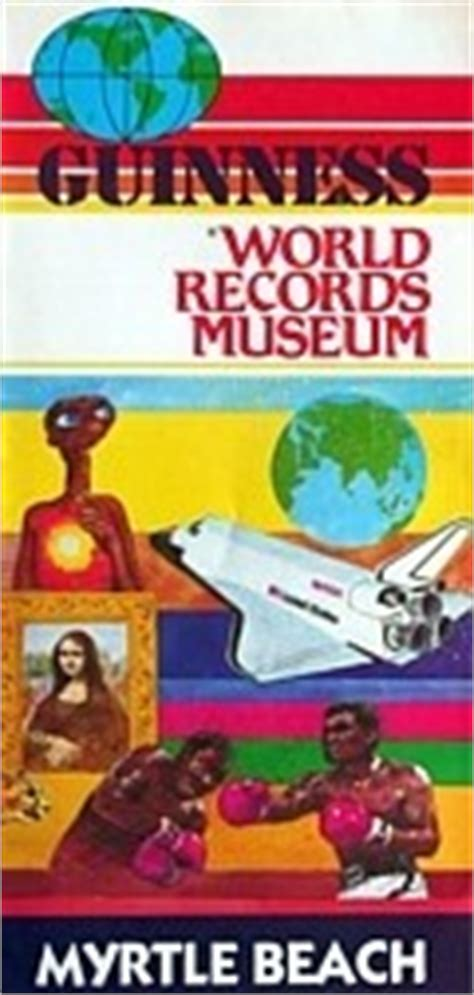 Myrtle Records Guinness Record Book Collecting