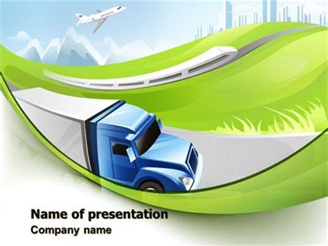 12 Best Images About Cars And Transportation Presentation Themes On Pinterest Powerpoint Templates Transportation