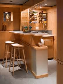 Creative Home Bars Fantastic Wooden Mini Bar Space Furnished By The Appliances