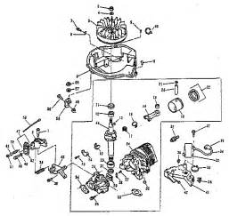 engine diagram parts list for model 680540 lawnboy parts walk lawn mower parts