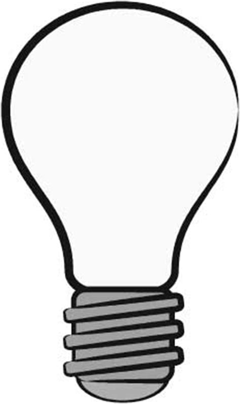 The Incandescent Lightbulb Has Clipart Panda Free Clipart Images Light Template