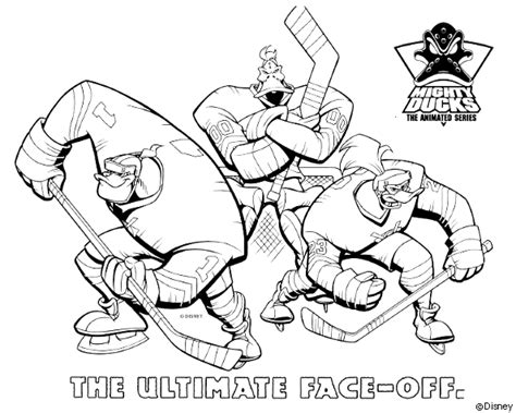 mighty ducks coloring pages the dragon s den mighty ducks the animated series