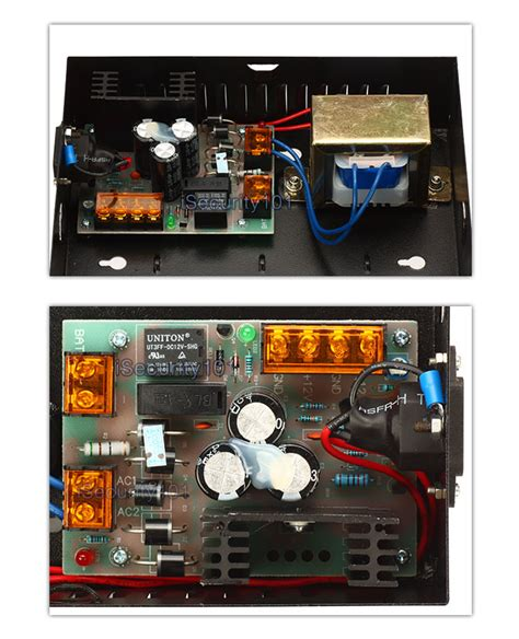 Junction Box Power Supply Terminal Panel 12v 5a ac 110v to dc 12v power supply box for tcp ip access board panel set ebay
