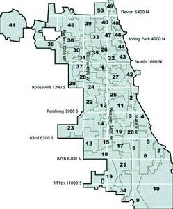 44th Ward Chicago Map by Chicago Precinct Map Submited Images