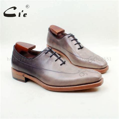 mens light grey dress shoes cie square toe light grey patina 100 genuine calf