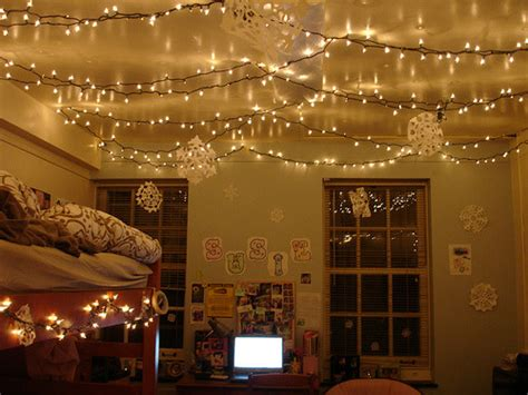 decorate bedroom with christmas lights tumblr rooms