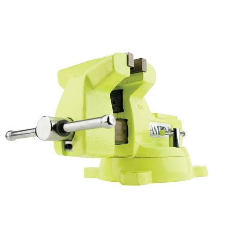 6 in bench vise olympia 6 in bench vise 38 606 the home depot