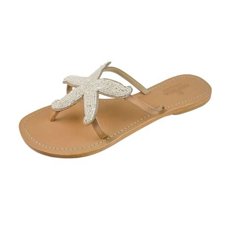 white beaded shoes aspiga starfish white beaded sandals aspiga