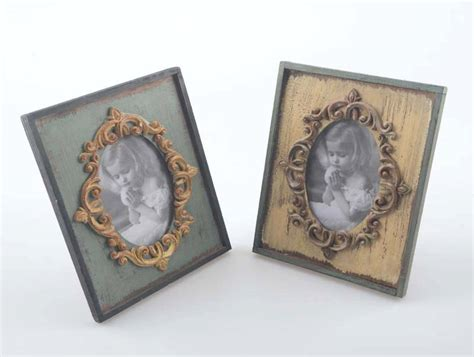 Home Decor Picture Frames 1pc Vintage Picture Frames Rectangle Carved Retro Rustic Style Home Decor Decoration Wooden Wood
