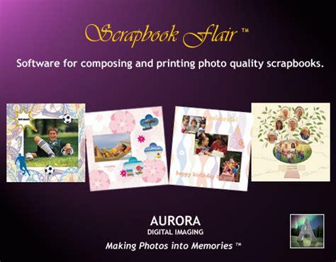 scrapbook layout software free scrapbook flair software free scrapbooking software