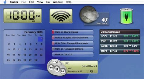 yahoo widget layout yahoo widget engine 4 5 2 screenshot freeware files com