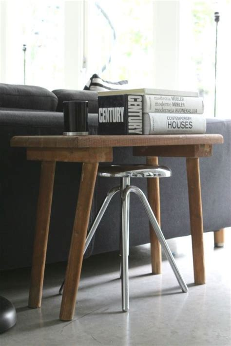 console table with bench underneath sofa table with stools underneath myideasbedroom com