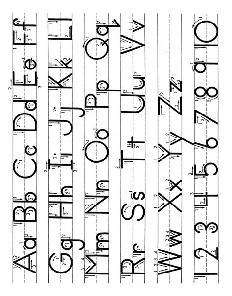 alphabet letter tracing guide worksheet learning english