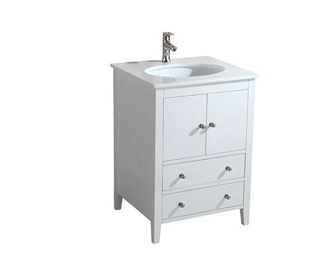 25 Inch Vanity Cassia 25 Inch White Vanity Ak Trading Home Options