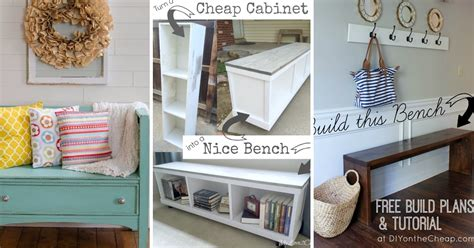 top diy projects the best 30 diy entryway bench projects page 2 of 3