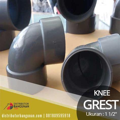 Sambungan Talang Air Setengah Stengah 1 2 Lingkaran Pipa Belah 6 Inch knee 1 1 2 grest distributor pipa pvc perlengkapan air