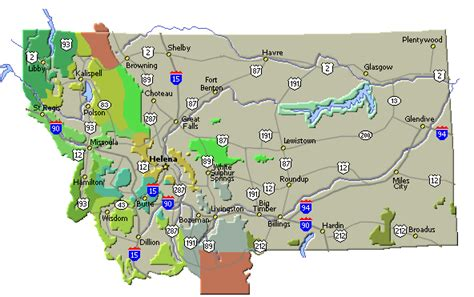 montana road conditions map northwest hiker presents weather information for montana