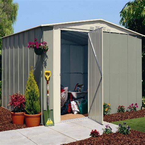 10x8 Garage Door Cheap Metal Sheds An Emerging Trend Metal Garden Sheds