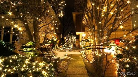 tree decorations beautiful christmas light wallpaper yard decorations lights