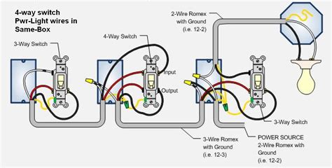 4 way switch wiring diagram lights pdf