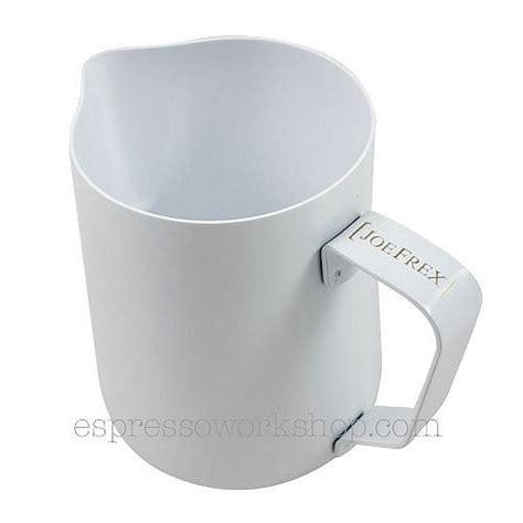 Milk Jug With Measurement Stem Jug 350ml teflon milk jug white 350ml espresso workshop