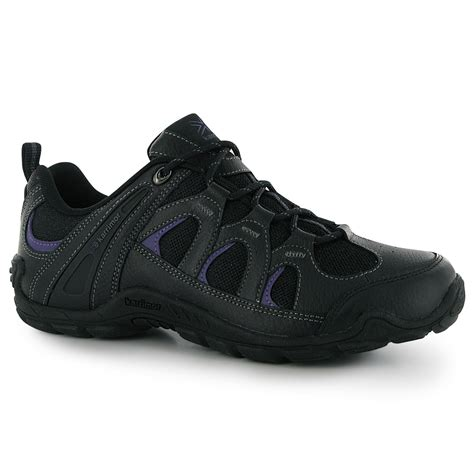 Karimor Summit Black karrimor summit womens walking shoes trainers black purple