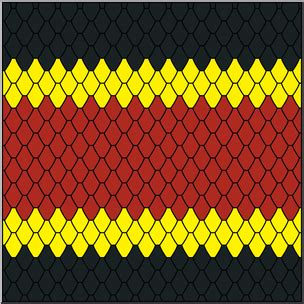 color pattern of coral snake clip art animal patterns coral snake color i abcteach