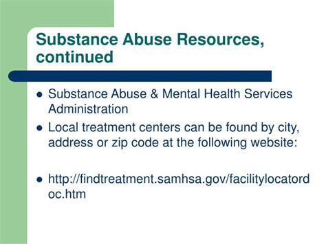 Mental Health Detox Substance Abuse Facility And Services Fort Collins by Ppt Substance Abuse Screening In Pregnancy Powerpoint