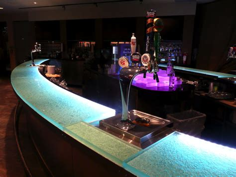 Lighted Bar Top by Glass Bar Top Ideas Cgd Glass Countertops