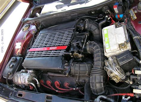 Lancia Engines Lancia Thema 8 32 Engine Lancia Free Engine Image For