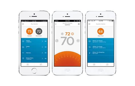 House Rules Design App by Honeywell Lyric Smart Thermostat With Companion App