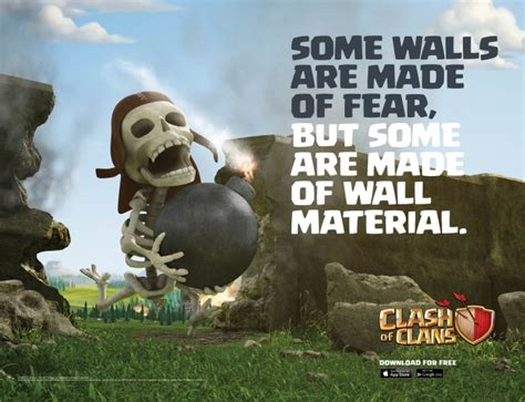 Clash Of Clan Wizard With Rabbit here are the two new clash of clans ads which will get a