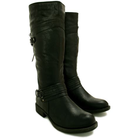 womens biker boot 30 amazing biker boots for women sobatapk com