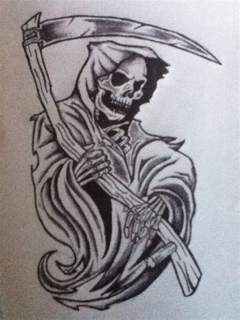 tribal grim reaper tattoos tribal grim reaper designs www imgkid the image