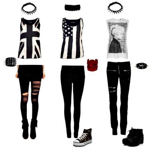 imagenes vestuario rockero como conseguir un look punk rockera chica mujer