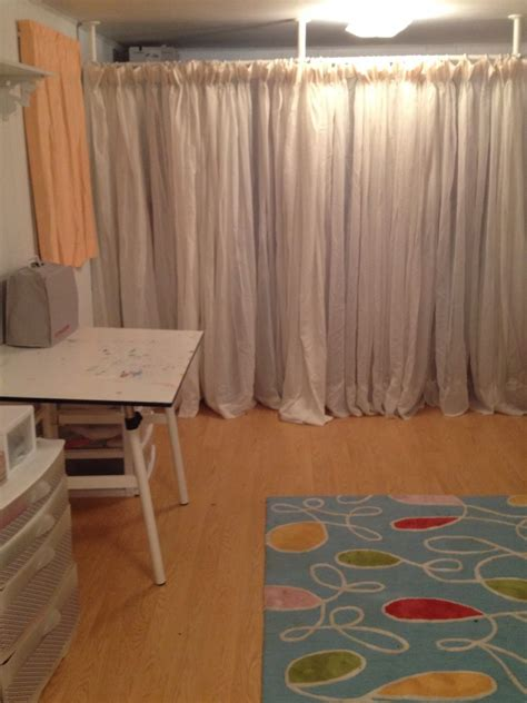 Room Divider Curtains Ikea Room Divider Curtain Cheryl S Cozy Room Divider Ikea Hackers Ikea Hackers Smart