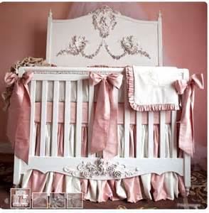 Posh Baby Cribs Posh Tots Mirabelle Gorggg Baby Nursery Pink And Gray Baby Bedding And