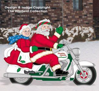 santa & elves easy rider clauses woodcraft pattern