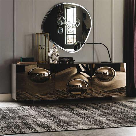 paramount bronze mirror sideboard  cattelan arredaclick