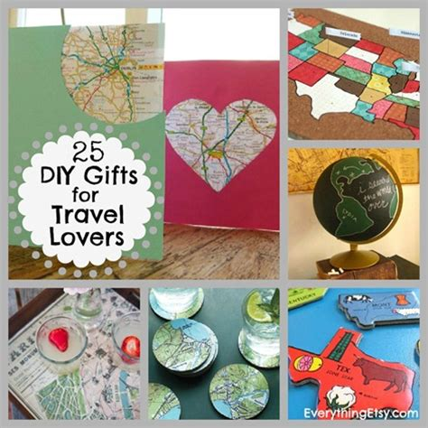 Diy Gifts For Travel Lovers Everythingetsy M