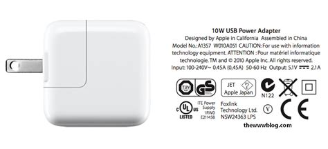 10w Usb Power Adapter the www usb power adapter for apple devices