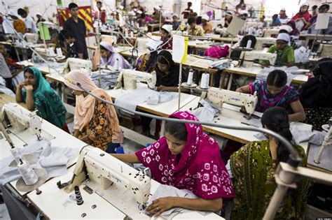 The Real Cost Of Fashion Denim Industry Destroying South American Landscape by 10 Secrets Of The Bangladesh Garment Industry Huffpost