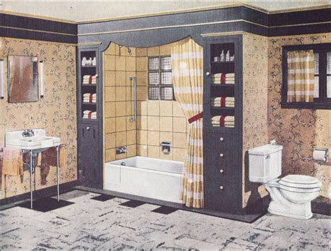 1940s Bathroom Design | 1946 crane bathroom 1940s modern design mid century