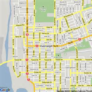 Comfort Inn South Map Of Invercargill New Zealand Hotels Accommodation