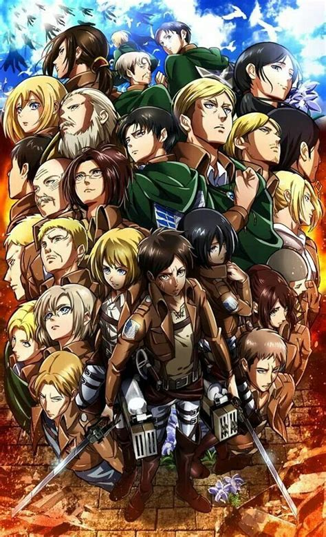 8 Anime Like Attack On Titan by Attack On Titan Characters Attack On Titan