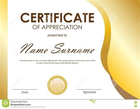 Certification Of Appreciation Templates by Certificate Of Appreciation Employee Template Choice Image