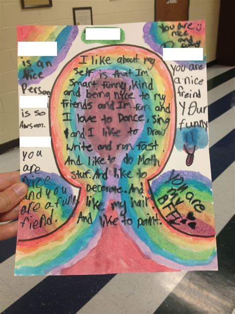 therapy ideas self esteem portraits music city school counselor