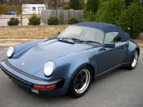 1989 porsche speedster for sale porsche 911 speedster 1989 lhd for sale