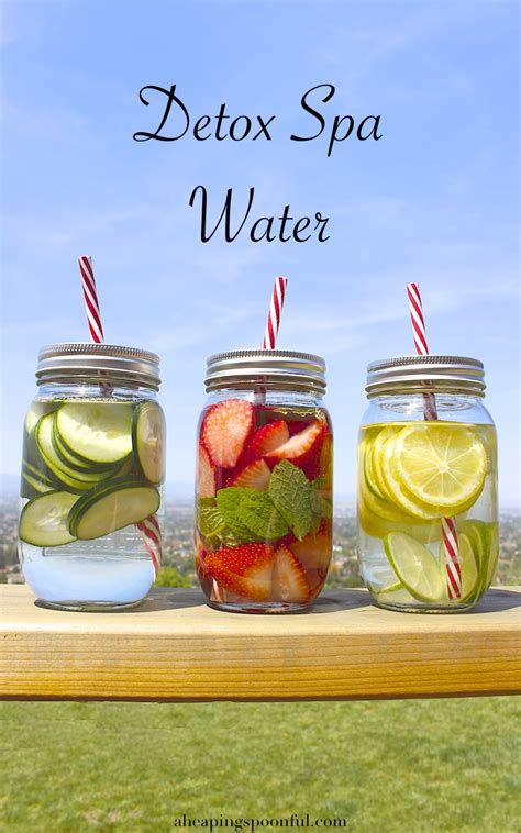 Detox Spa by Detox Spa Water A Heaping Spoonful