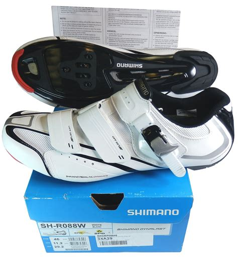 shimano r088 road bike shoes shimano sh r088w r088 spd sl white cycling road shoes eu